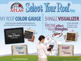 Select Your Roof iPad app