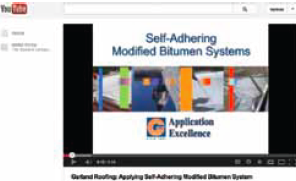 The Garland Co. Inc. recently posted a video depicting the proper application procedures for its Self-Adhering StressPly SA FR Mineral SBS modified bitumen membrane.