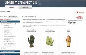 DuPont SafeSPEC Glove Selector Tool