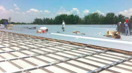 Metal Sales Manufacturing Corp.'s Retro-Master roof replacement solution