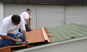 The Platinum 78 metal roof tile system
