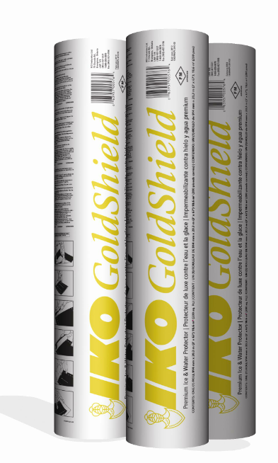 IKO has announced packaging changes to its GoldShield Ice & Water Protector.