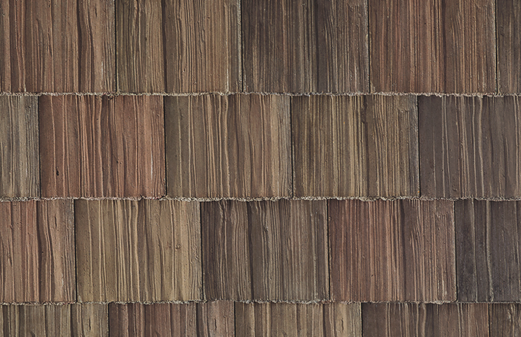 The Madera 900 Tahoe Blend, which is included in the Boral Concrete Roof Tile product line