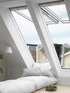 VELUX's GDL CABRIO roof window