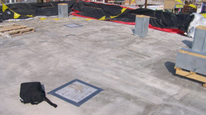 "While the ""plate"" test is not a preferred method, it can quickly and inexpensively give an indication of retained moisture in lightweight aggregate concrete roof deck covers."
