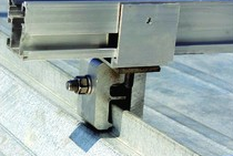 Galaxy Energy's G7 universal standing-seam clamp