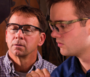 Conqueror MAG by Gateway Safety is a bifocal safety eyewear solution.