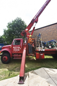 Waukegan Roofing constructs all types of low- and steep-slope roofs, along with roof-related sheet metal, as well as operates a commercial service and maintenance division.
