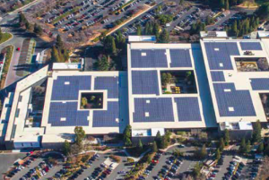 The building owner desired a roof with a life cycle that would mirror the 25-year life span of the solar panels, which cover 85 percent of the roof.