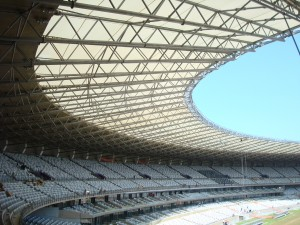 Estadio Mineirão, built in 1965 and listed as a national monument of Brazil, underwent a three-year modernization project to prepare for hosting six of the FIFA World Cup matches.