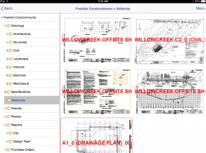Dexter + Chaney's Project Plan Room mobile app