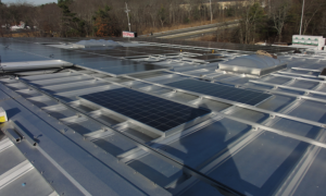 The FM-Approved AceClamp ML was used to install a 200-kW solar-power system on the facility.