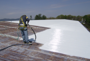 Membrane Restores Existing Metal Roofs Roofing