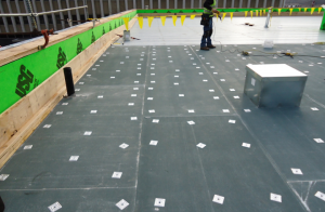 The type of substrate board should be chosen based on the roof-deck type, interior building use, installation time of year and the cover material to be placed upon it.