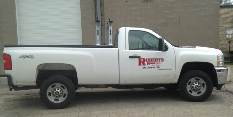 Roberts Roofing's fleet-tracking system monitors 30 trucks and has improved the business' bottom line.