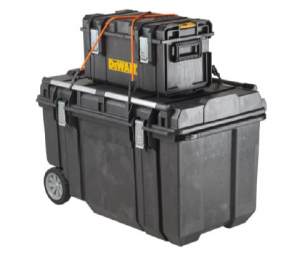 DEWALT introduces the new Tough Chest Mobile Storage – model DWST38000 – and 15 Gallon Chest – model DWST33090.