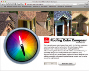 Owens Corning's Color Compass Quiz