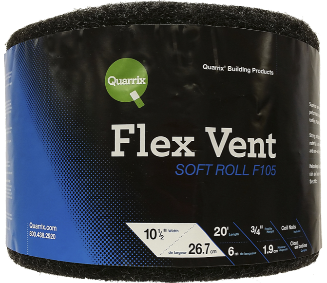 Quarrix Building Products introduces Flex Vent Soft Roll