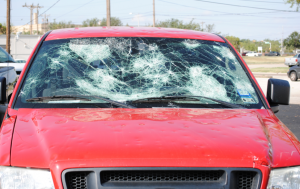 Early in the evening hours of June 12, 2014, Abilene, Texas, was hit by a hailstorm that covered approximately 40 percent of the town.