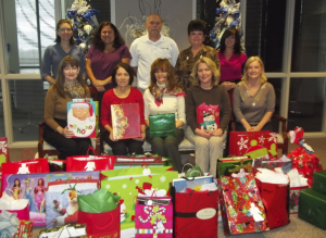 CentiMark corporate associates deliver Back-to-School, Christmas, and Easter food and gifts to families in need and non-profit organizations.