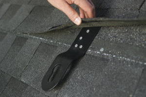 The HitchClip's main function is to provide roofing workers with fall protection.