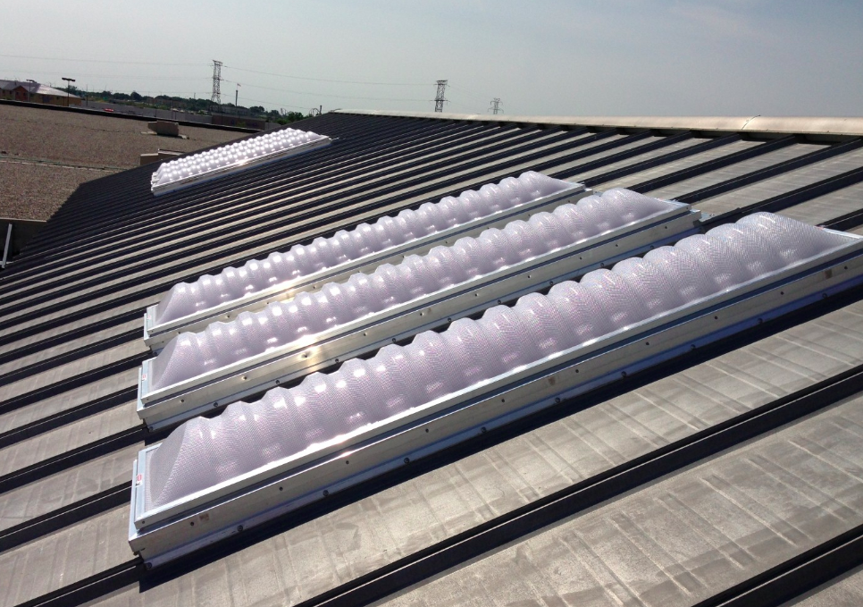 The RetroLite daylighting system from Butler Manufacturing