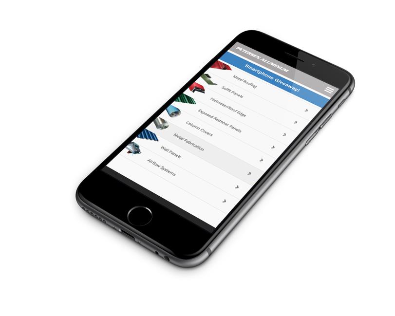 The comprehensive metal product resource app from Petersen Aluminum Corp.