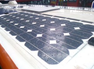 The electricity produced by 'roof solar energy' could be used for heating, cooling, running office machinery or even fed back to the grid, earning the building owners money.