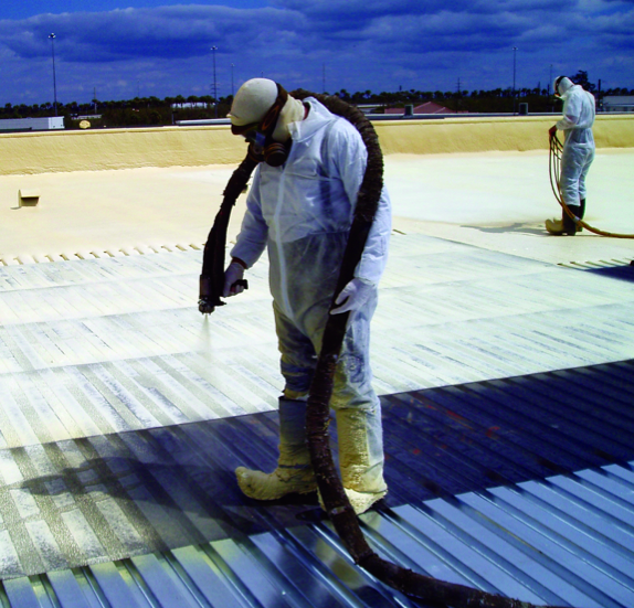 SPF may be installed in a continuous layer, eliminating thermal bypasses, and boasts one of the highest R-values of all insulation options.