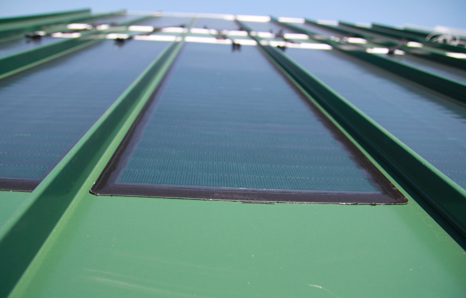 Miasole has released its new FLEX 01-N PV module for architectural standing seam metal roof systems.