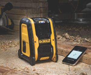 DeWalt's DCR006 Jobsite Bluetooth Speaker