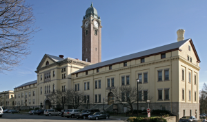 BUILDING 52 CLOCK TOWER