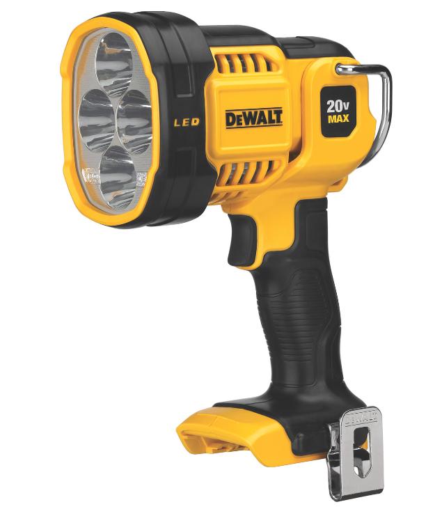 DEWALT introduces its new 20V MAX* CORDLESS Jobsite LED Spotlight – model DCL043