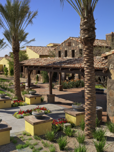 The centerpiece of the Encanterra subdivision in Phoenix is the 60,000-square-foot country club known as La Casa, The Club at Encanterra.