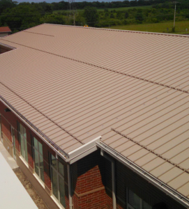Alton Hall Elementary School, Galloway, Ohio, recognized the need for snow retention and specified the Sno Barricade from Sno Gem Inc. to be attached to the standing-seam roof.
