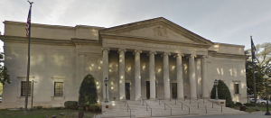 A copper cornice restoration was performed on the Daughters of the American Revolution Constitution Hall in 2013-14.