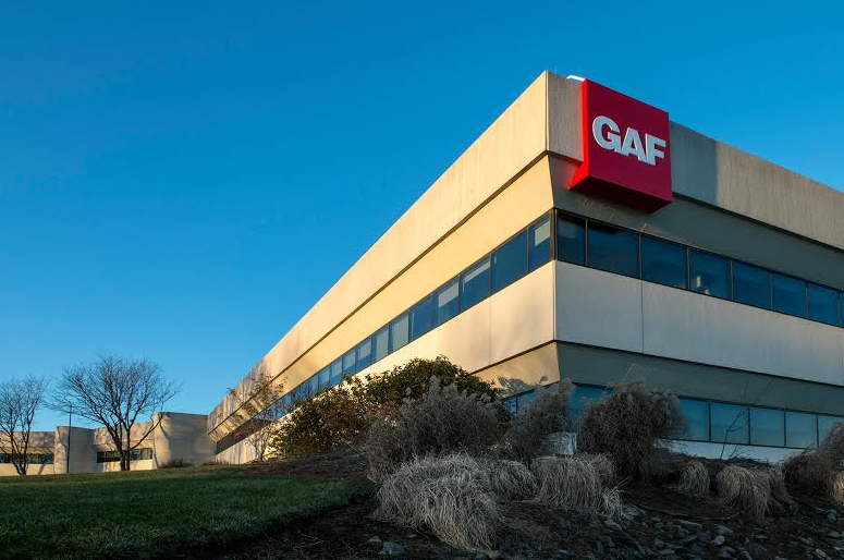 GAF's new location is a single, 330,000 square foot state-of-the-art facility that will house all of the company's operations on three floors.