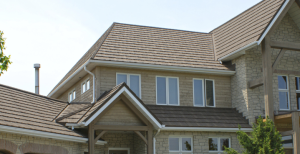 Allmet Roofing by Headwaters is a premium stone-coated metal roofing system that delivers the rugged durability and strength of metal roofing with the handsome look of wood shake, genuine slate, Spanish tile and shingle roofing.