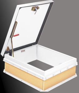 Bilco has made its roof hatches available with a factory-applied powder coat paint finish.