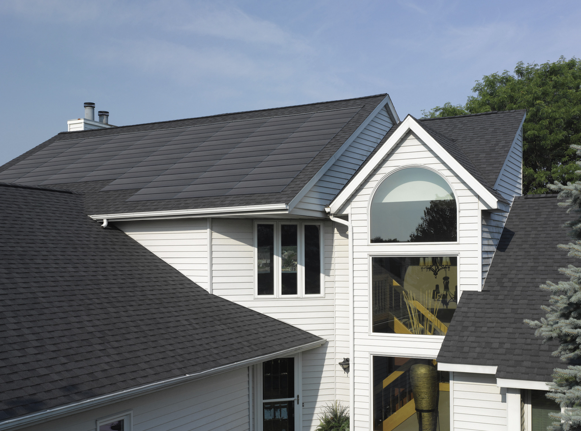 Upgraded Solar Roofing System Combines Greater Efficiency