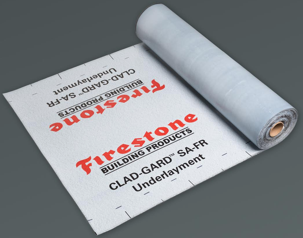 Firestone Building Products Co. introduced its CLAD-GARD SA-FR with CoreGard Technology.