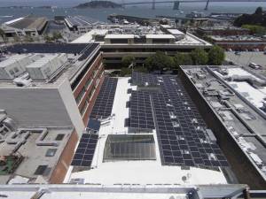 Eighty-two Daylighting Systems were installed in the renovated 16,533-square-foot building.