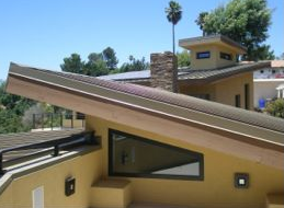 """We chose a metal roof for our home because it was a sustainable material with a long life expectancy,"" explains homeowner Rhonda Farrar. ""Compared to other non-metal roofing materials, a metal roof is more durable and lighter, resulting in structural savings when building."""