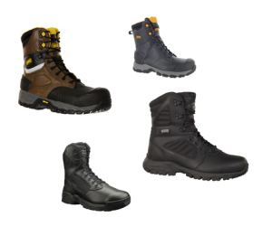 Magnum Boots has created a care and informative Web page for work boots to share with consumers.
