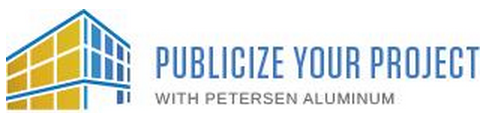 Petersen Aluminum's marketing tool is called Publicize Your Project.