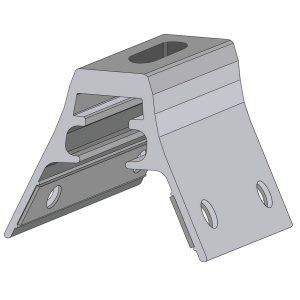 RibBracket from S-5! can be used to mount almost anything onto the most common exposed-fastened, trapezoidal roof profiles marketed in North America.