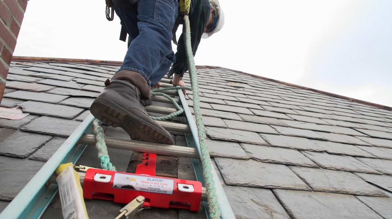 Ladder Clamp Allows for Safer Access - Roofing