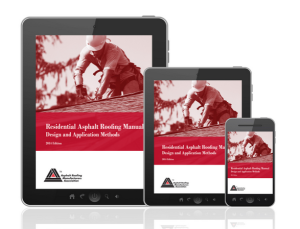 The Asphalt Roofing Manufacturers Association has converted its popular <em>Residential Asphalt Roofing Manual</em> into an eBook that is available in all major online retail bookstores.