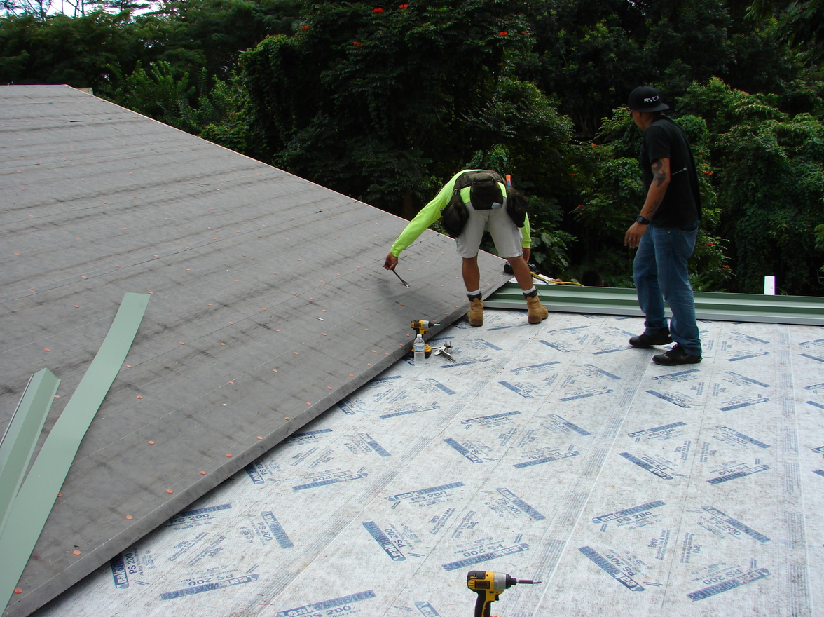 Metal Roofing Underlayments Protect Structures In Hawaii