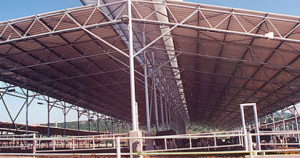 AG-TUF and AG-TUF UV corrugated PVC liner panels from H&F Manufacturing Corp.